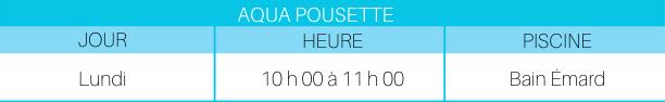 Aqua Poussette P-2020