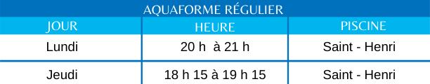 Aquaforme régulier (1)